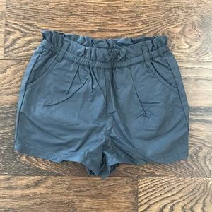 Gap toddler faux leather shorts 4T